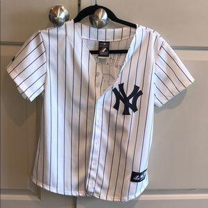 Authentic Women's Small Derek Jeter Yankee Jersey